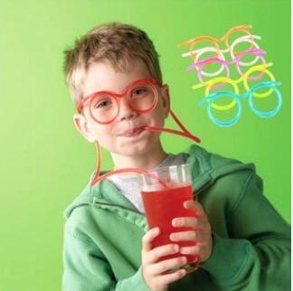 Drinking Straw Glasses Funny Drinking Straw