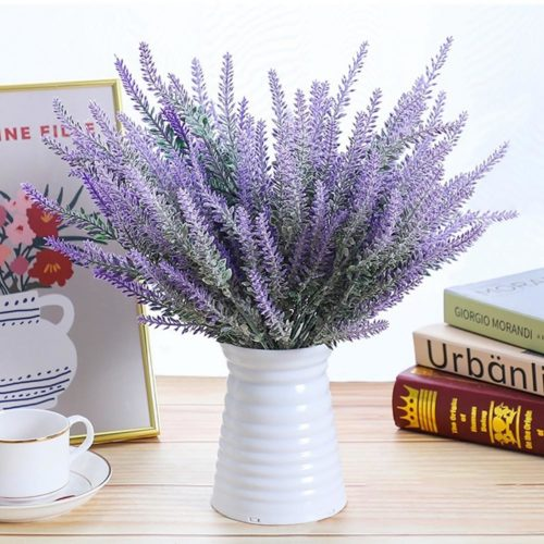 Fake Lavender Artificial Flowers