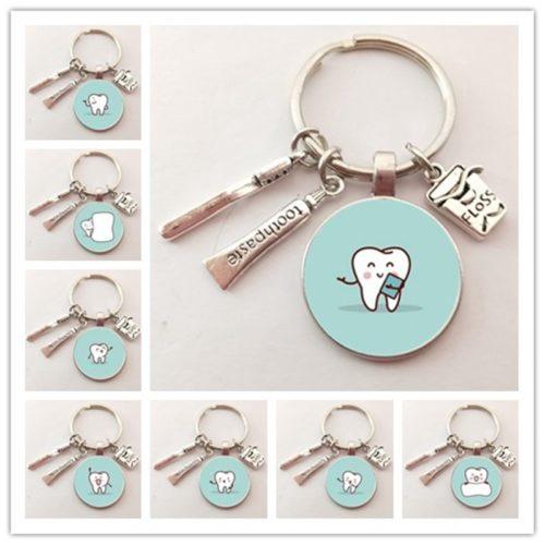 Dentist Keychain Creative Key Holder