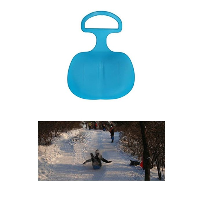 Kids Snow Sled Plastic Outdoor Sled