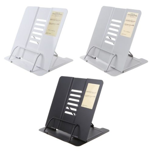 Metal Book Holder Portable Book Stand