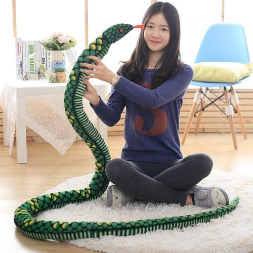 Snake Stuffed Animal Soft Plush Toy
