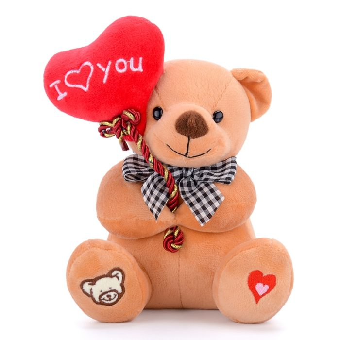 Plush Valentines Teddy Bear
