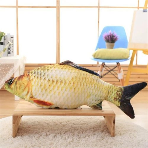 Fish Cushion Realistic Animal Pillow