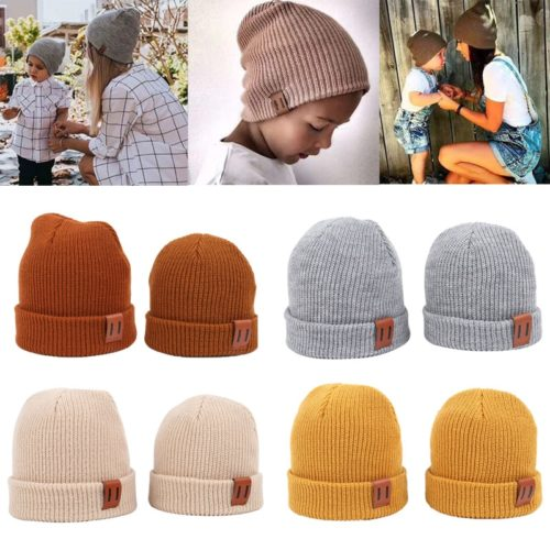 Kids Beanie Warm Knitted Headwear