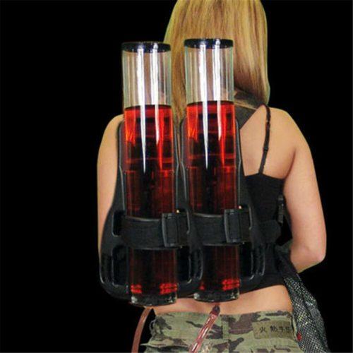 Drink Dispenser Backpack Double Barrel