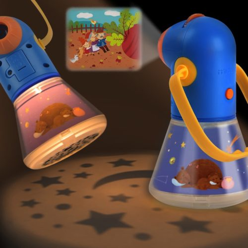 Kids Storybook Torch Story Projector