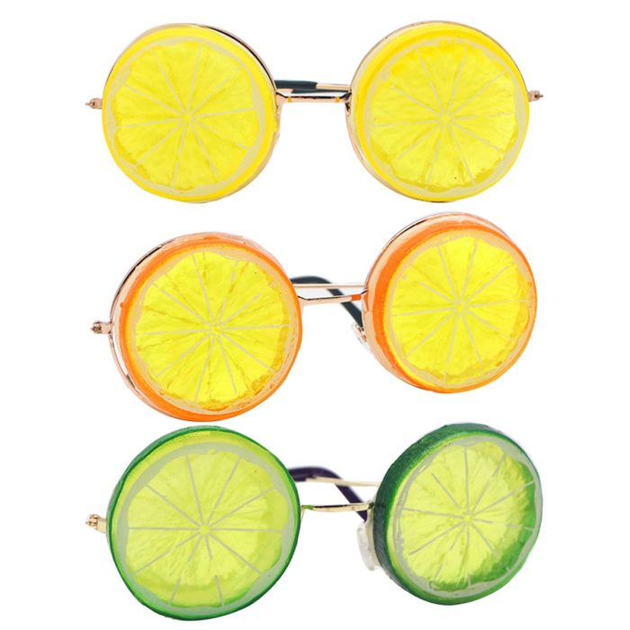 Lemon Sunglasses Funny Eyewear