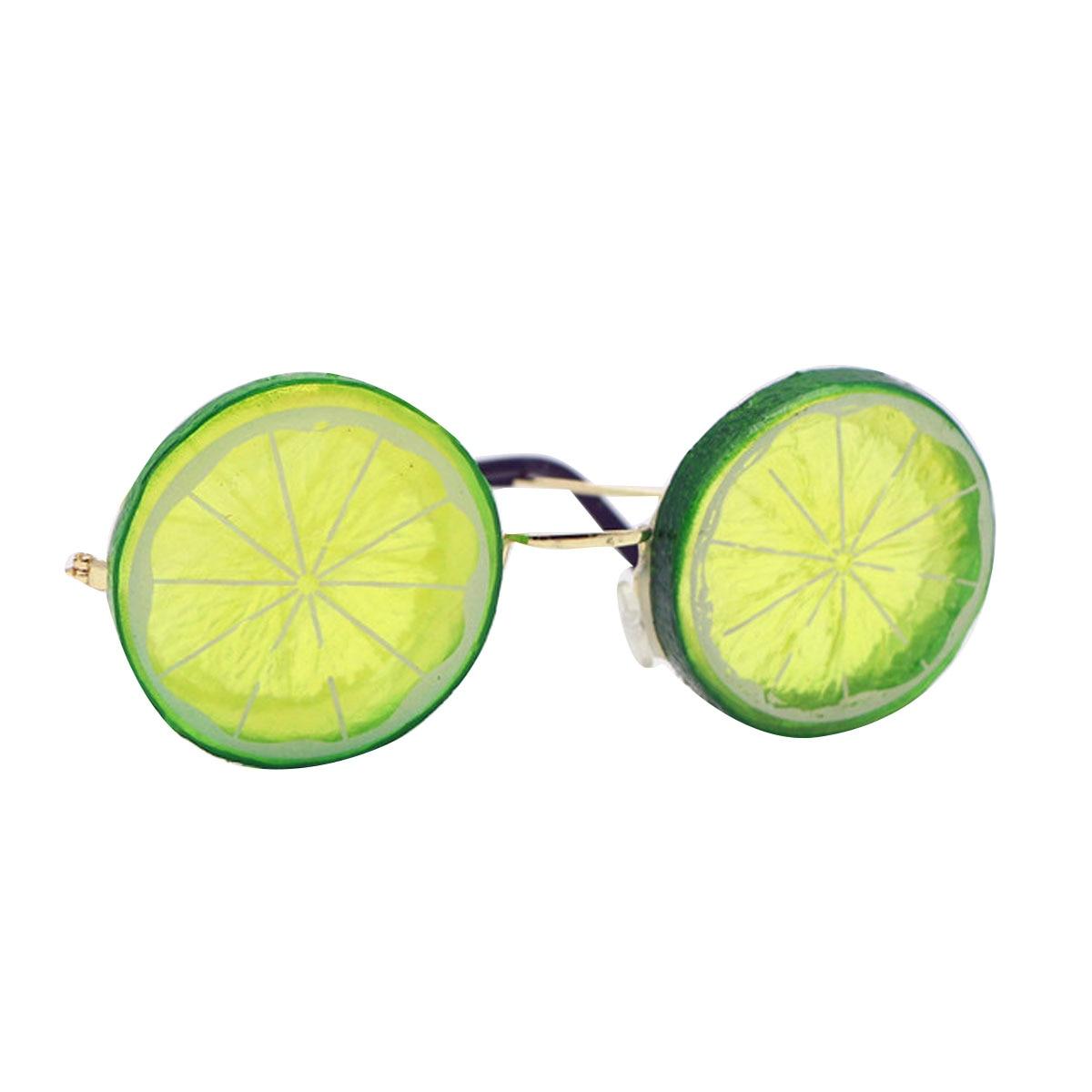 Creative Lemon Shaped Eyeglasses Photography Props Beach Wedding Photography Lemon Glasses Photos Props Funny Party Glasses