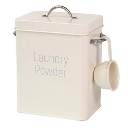 Laundry Powder Container Metal Box