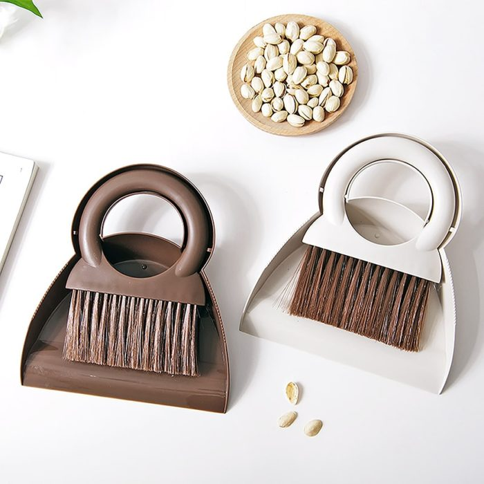 Mini Broom and Dustpan Desk Cleaning Tools