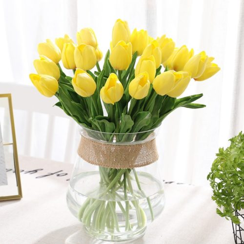 Fake Tulips Artificial Flower Decoration