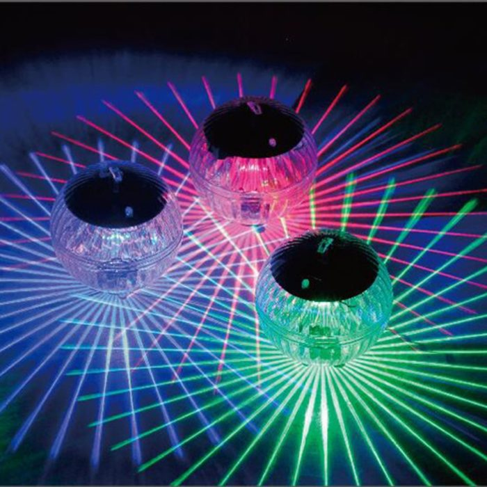 Floating Solar Pool Lights