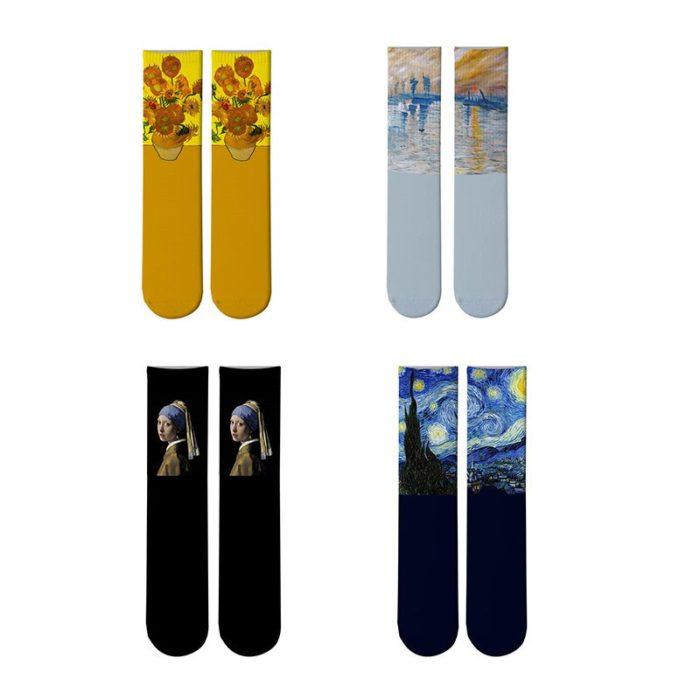 Van Gogh Socks Fashionwear