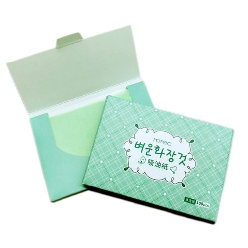 Oil Blotting Paper Green Tea Scent