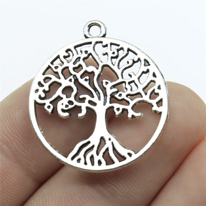 Tree of Life Pendants Necklace Bracelet Charm (10 pcs)