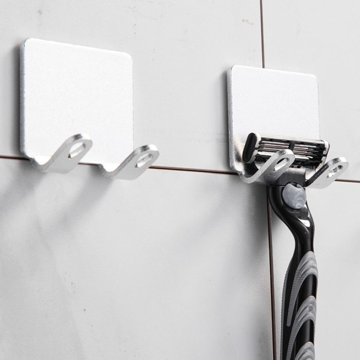 Shaver Holder Bathroom Razor Rack (2Pcs.)