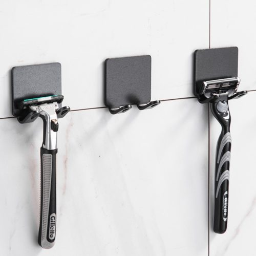 Shaver Holder Bathroom Razor Rack (2Pcs.)