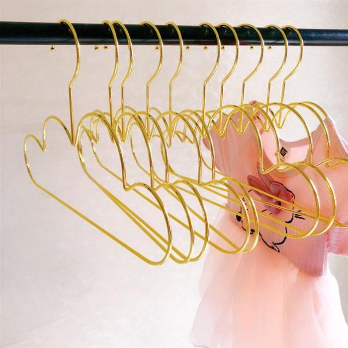 Childrens Clothes Hangers Metal Racks (5pcs)
