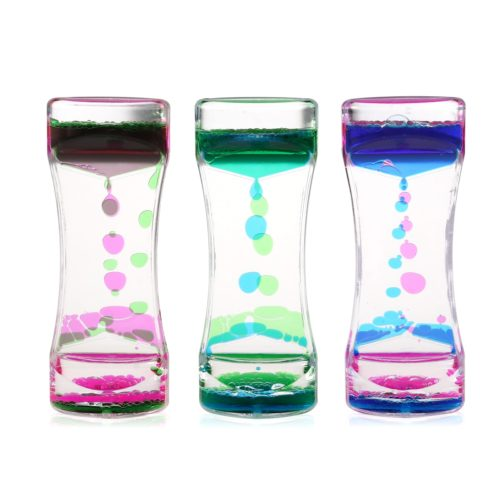 Oil Hourglass Minute Timers (3pcs)