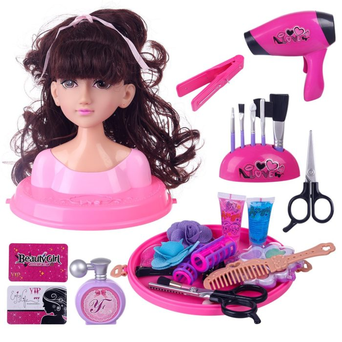 Kids Styling Head Doll Playset