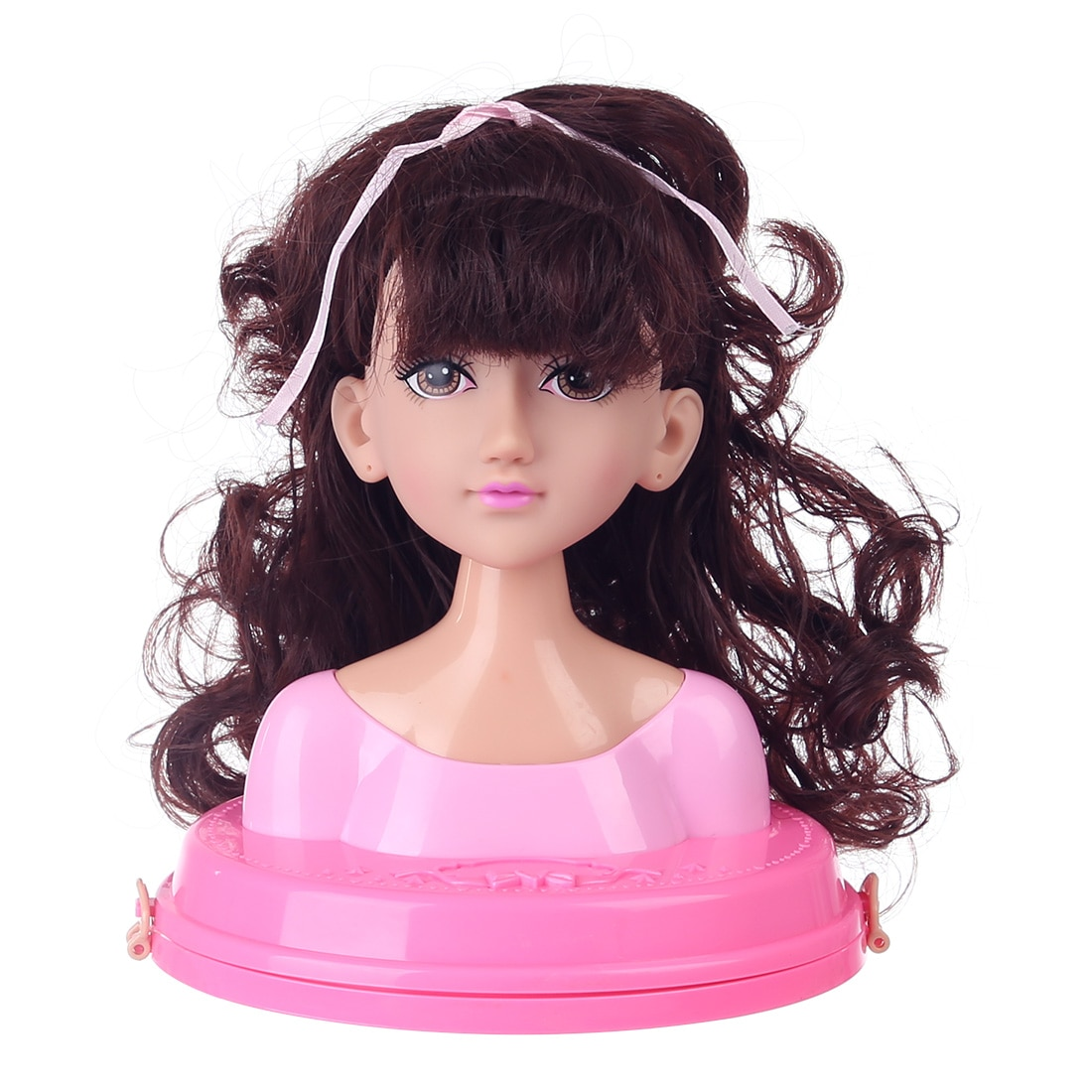 Children Doll Deluxe Styling Head Makeup Pretend Playset Hairstyle Toy Kids Make Up Toy Set For Kids Girls Birthday Gifts 2020