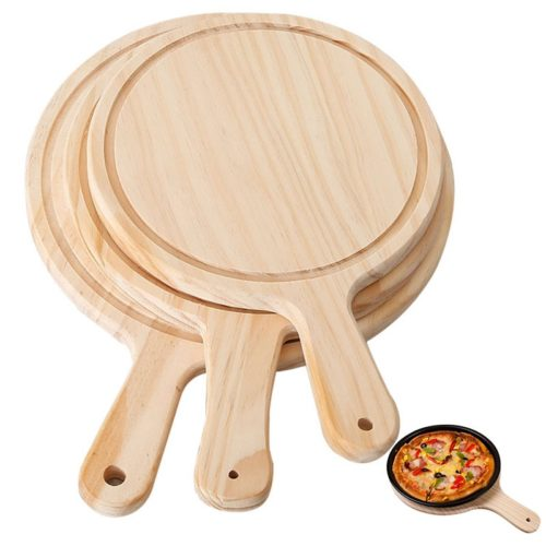 Wood Pizza Tray Cutting Board