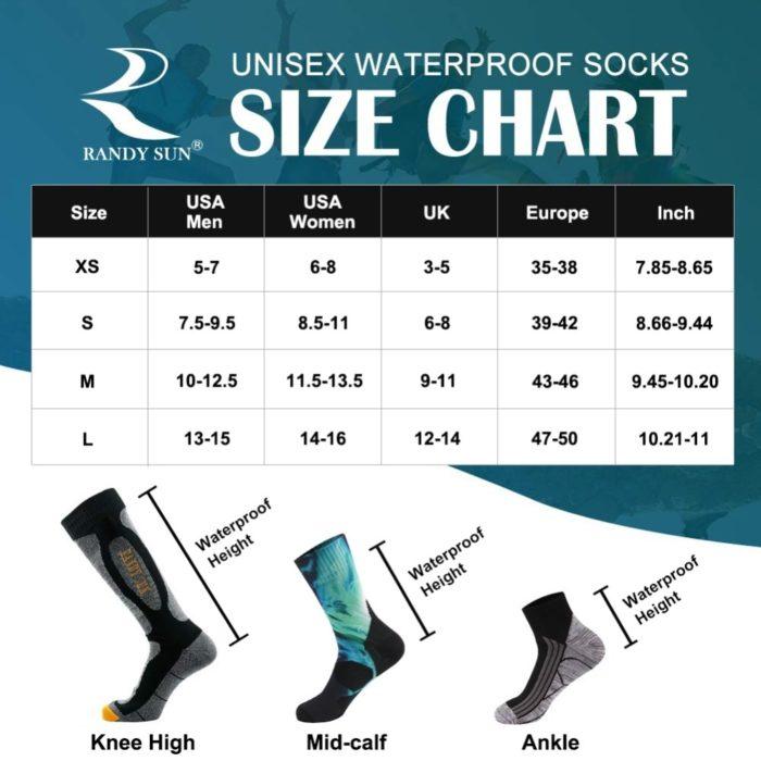 Outdoor Water Resistant Socks
