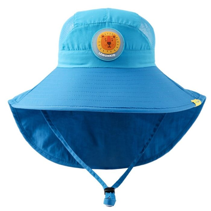 Kids Wide Brim Hat Summer Casual Hat