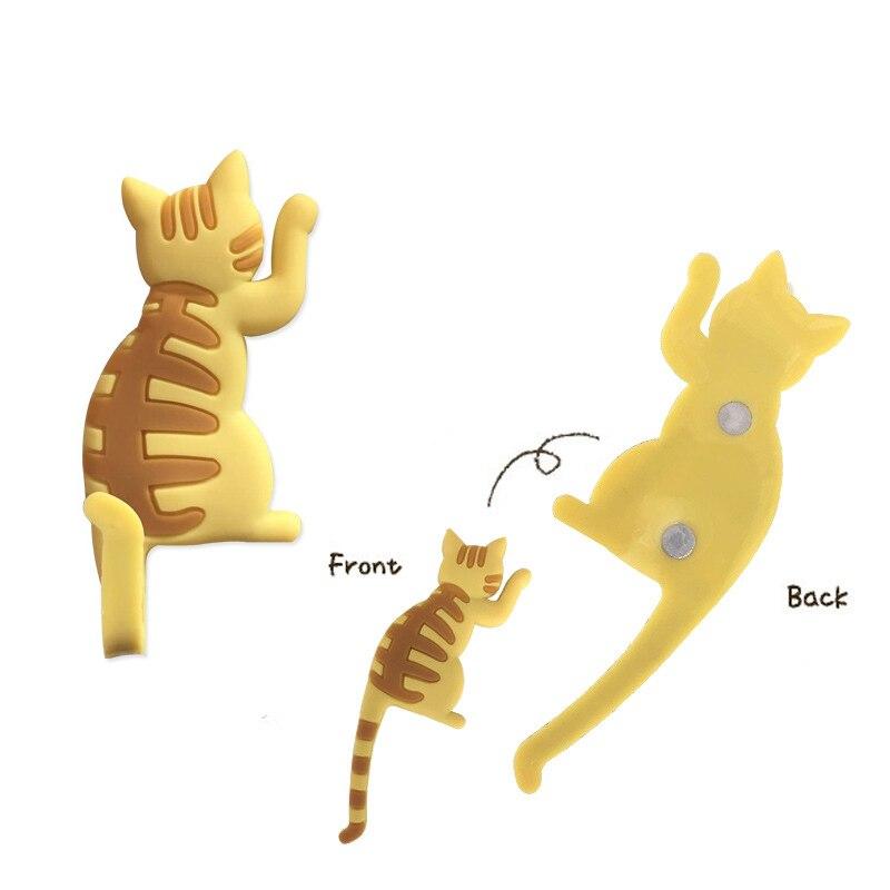 Cute Cartoon Cat Seamless hook up material fridge magnets whiteboard sticker Refrigerator Magnets Kids gift Home Decoration