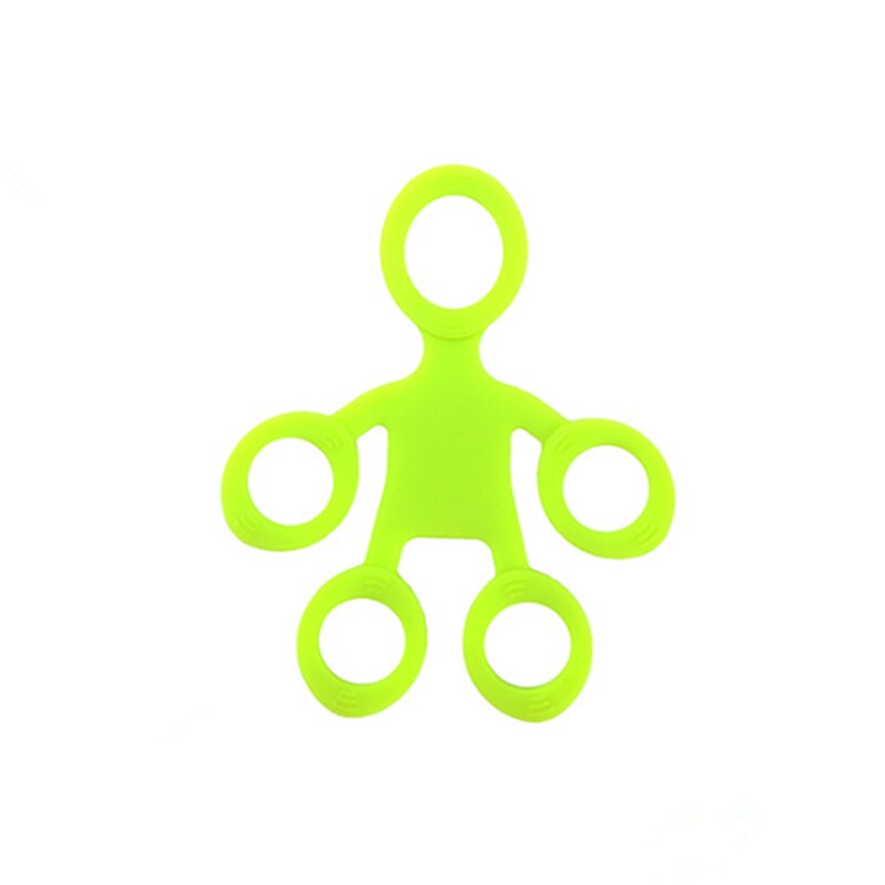 Finger Grip Silicone Ring Exerciser Antistress Resistance Band Fitness Stretcher 3 Levels Finger Sensory Toy for Autism ADHD