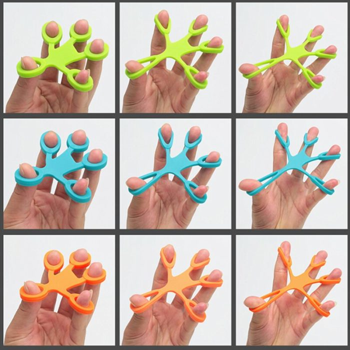 Hand Resistance Band Anti-Stress Finger Grip