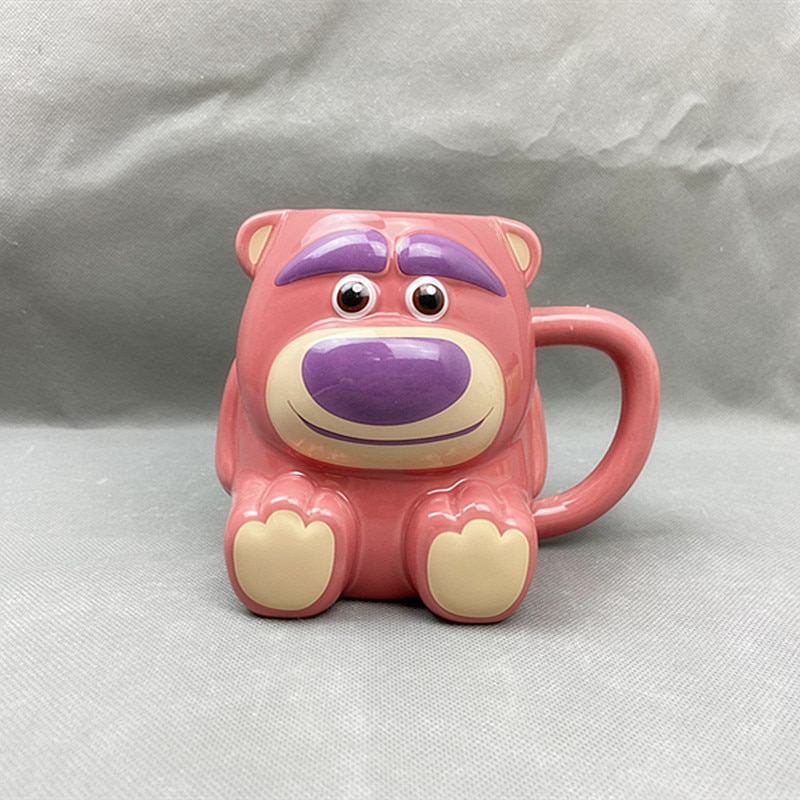 Disney Ceramic Cup Coffee Adult Mug Animation Cartoon Children Cup Couple Milk Tea Cup As a Gift