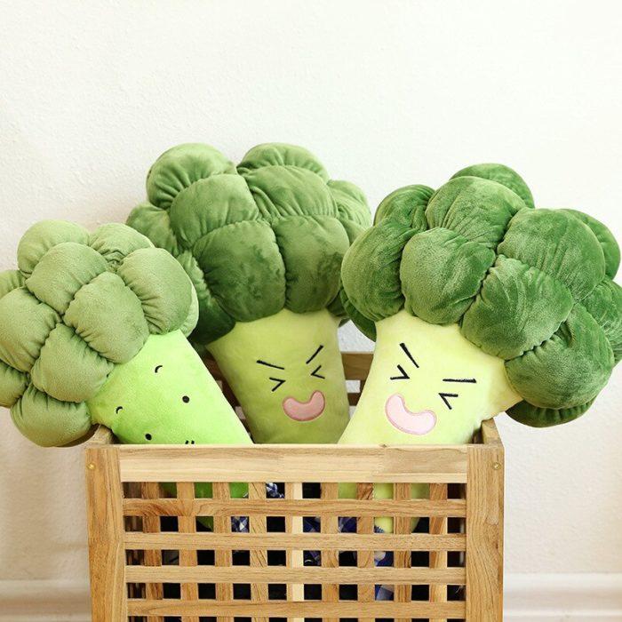 Broccoli Plush Veggie Stuffed Toy