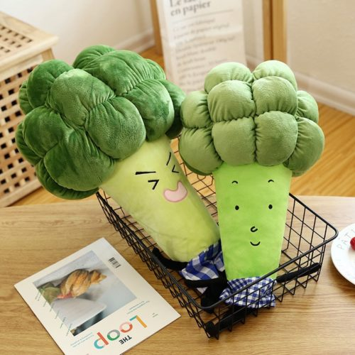 Broccoli Plush Veggie Stuffed Toy