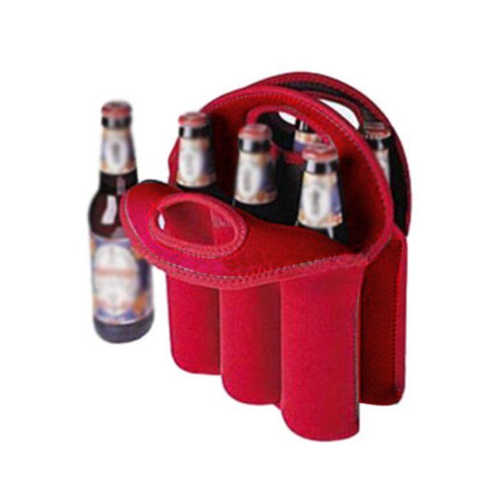 Beer Bottle Carrier Six-Slot Bag