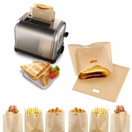 Non-Stick Sandwich Toaster Bags (2pcs)