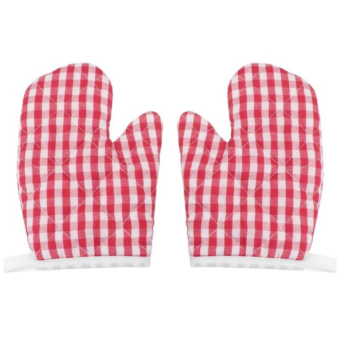 Kids Oven Mitts Kitchen Gloves (2pcs)