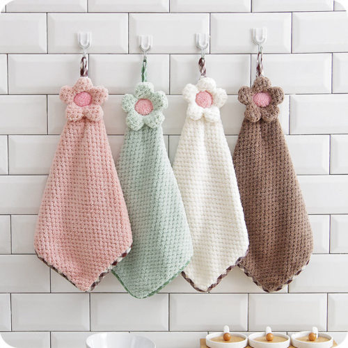 Hanging Hand Towel Absorbent Fabric