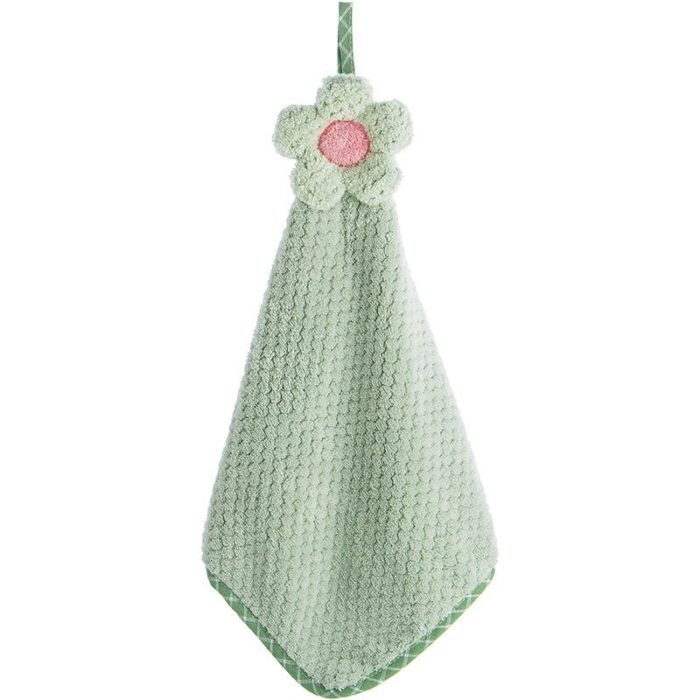 Hanging Hand Towel Absorbent Fabric