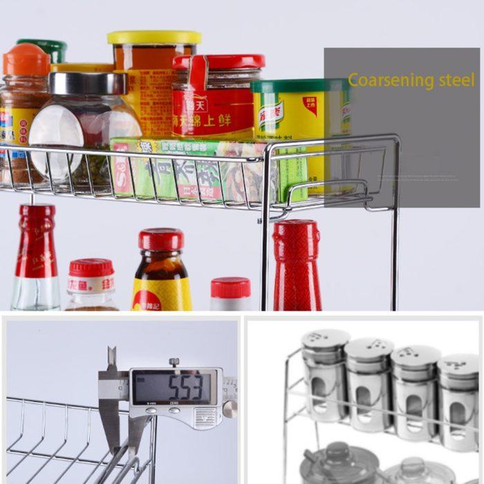 Countertop Spice Rack Storage Organizer