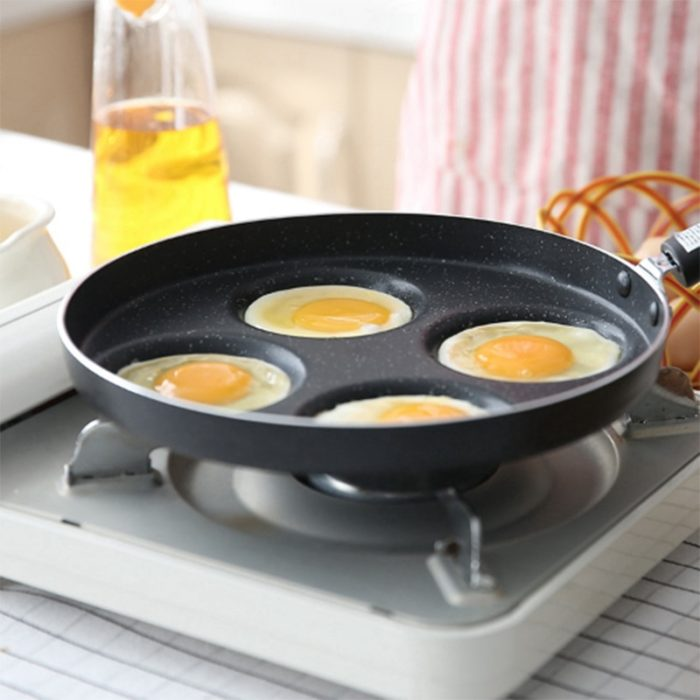Non-Stick Egg Pan 4-Cavity Pancake Fryer