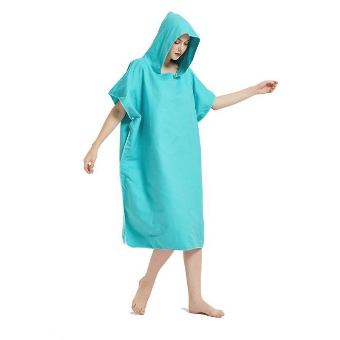 Adult Towel Poncho Microfiber Suit