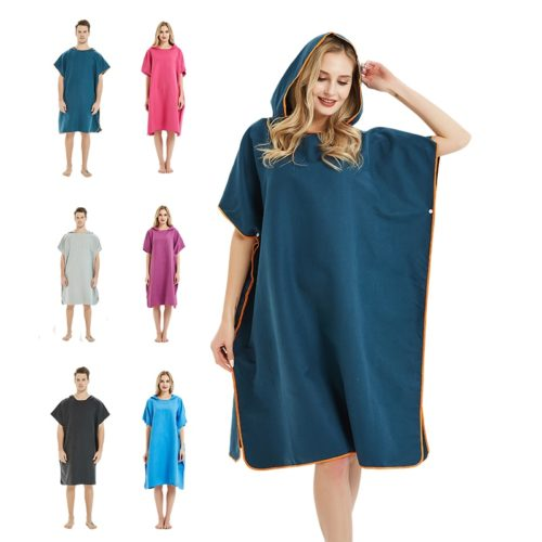 Adult Towel Poncho Microfiber Suit