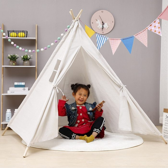 Kids Teepee Tent Foldable Play House