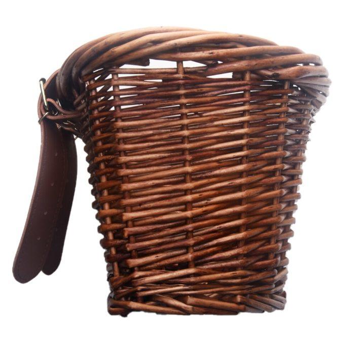 Bicycle Wicker Basket Vintage Carrier