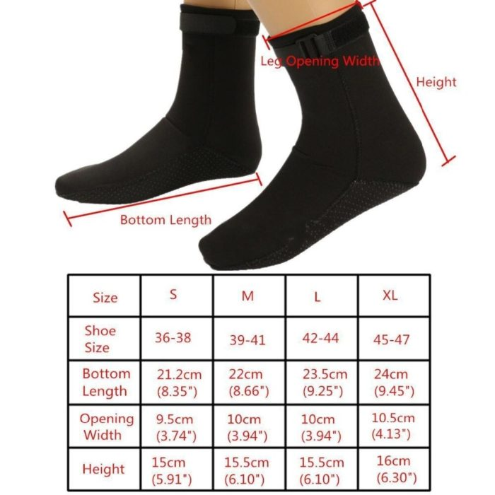 Scuba Socks Neoprene Footwear