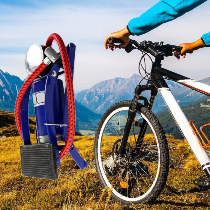 Bicycle Foot Pump Portable Inflator