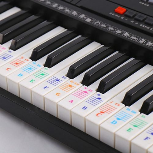 Piano Note Stickers Colorful Stickers