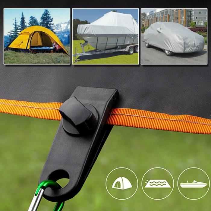 Tent Clips Plastic Tarp Clamps (10pcs)